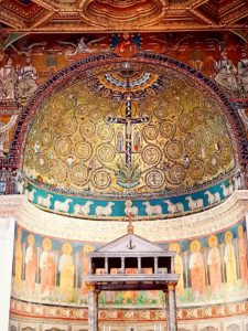 Мозаики апсиды базилики Сан Клементе Древо жизни